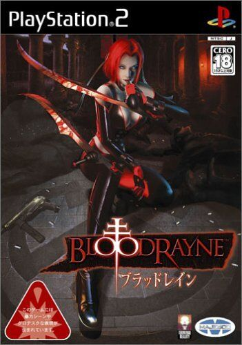 Ps2 Bloodrayne Blood Rayne Playstation 2 Japan F S For Sale Online