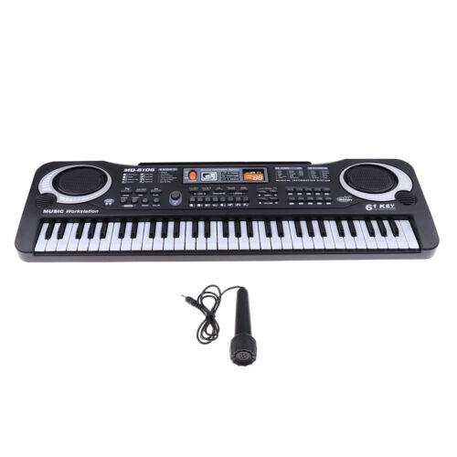 Keyboard Kinder Digital Piano 61 Tasten Elektronische Musikinstrument