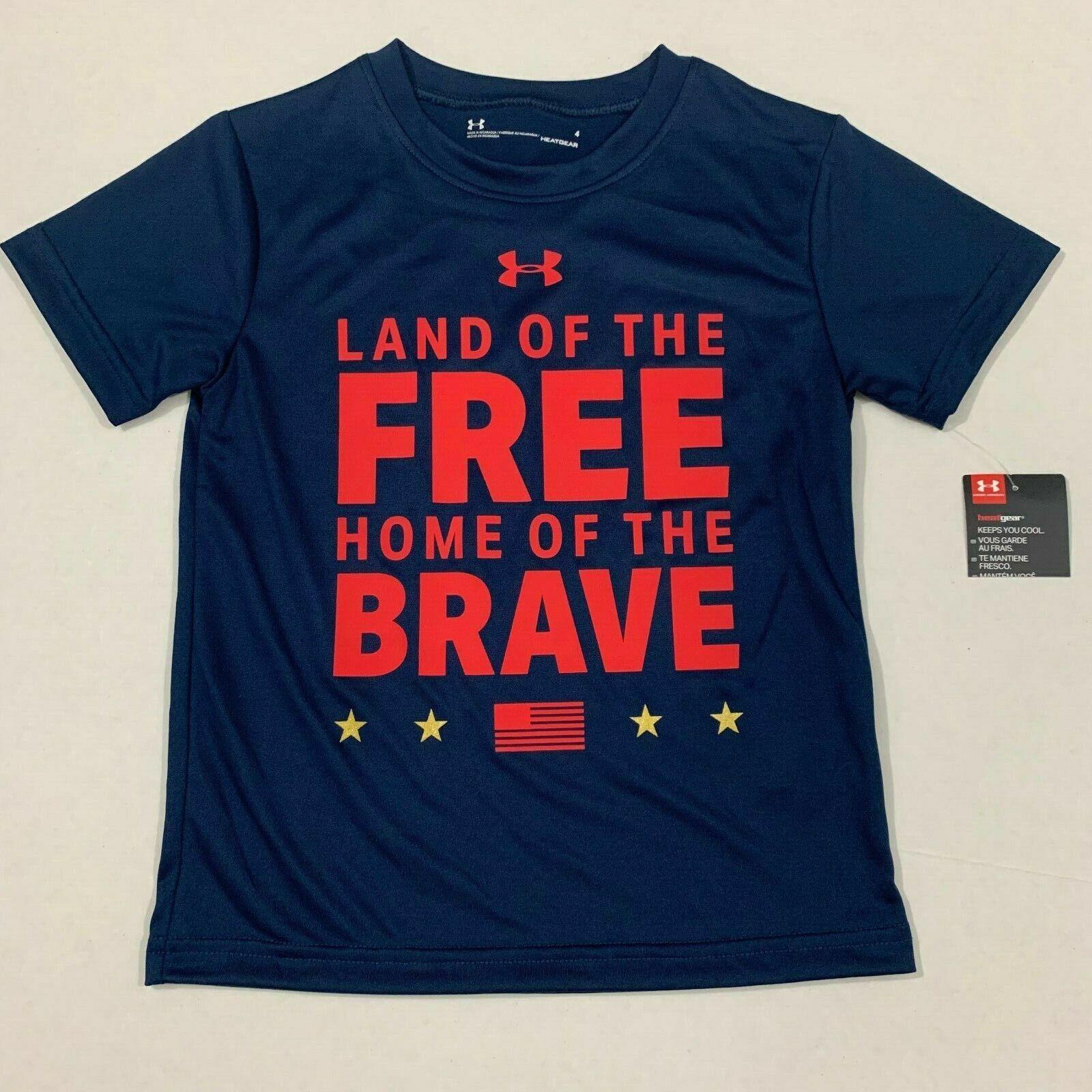 Under Armour Boy Land t-Shirt