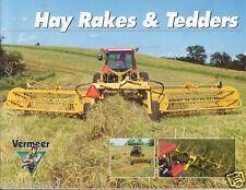 Farm Equipment Brochure - Vermeer - R-24A et al Hay Rakes Tedders - 2000 (F2917)