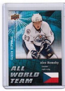 2009-10-Upper-Deck-Series-1-All-World-Team-Ales-Hemsky-Czech-Republic