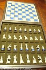 1983 FRANKLIN MINT CIVIL WAR Chess Set[a*4]