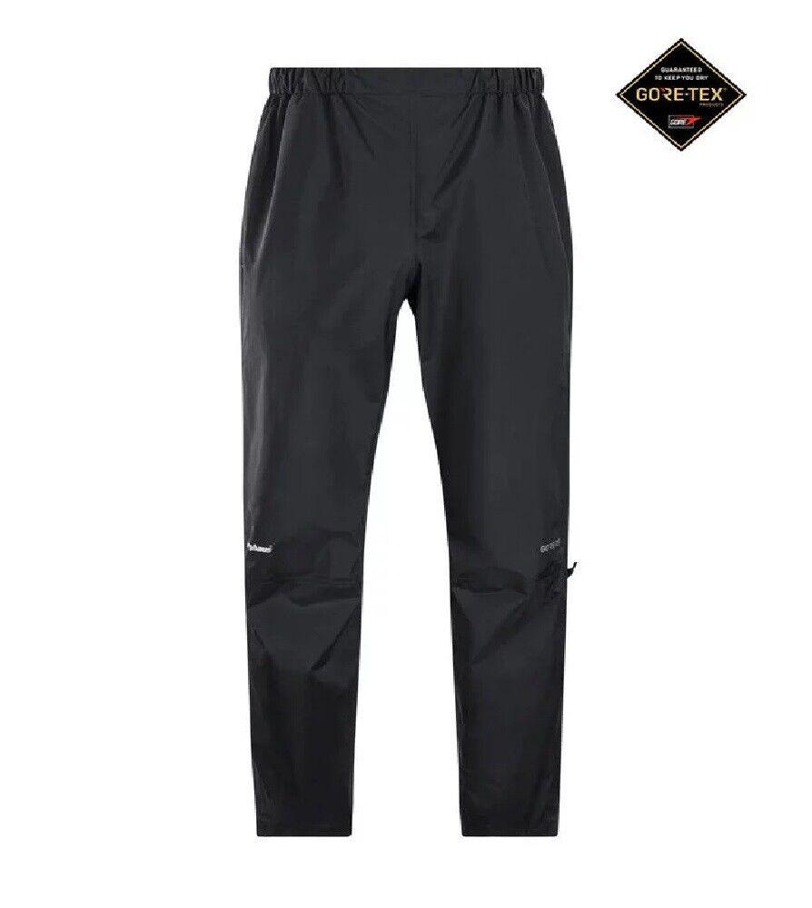 Berghaus Packlite ouverderouser pioggia Pantaloni Uomo GORE-TEX Impermeabile Leggero Nuovo