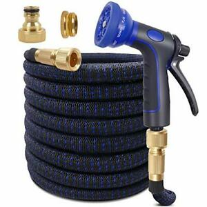 100ft Expandable Garden Hose Upgraded Flexible Water Hose with Three