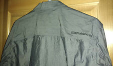 Bmw Motorrad Mens Shirt Long Sleeve Button Down Metallic Gray Large Casual Dress