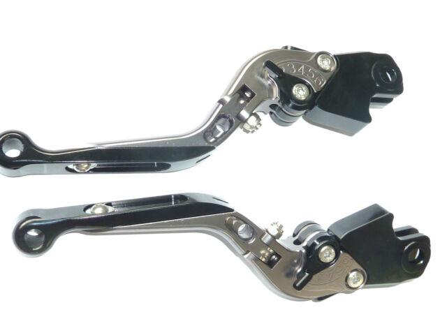 BMW R1200GS //ADVENTURE R1200R BRAKE /& CLUTCH LEVER SET EXTENDABLE FOLDING  TS127