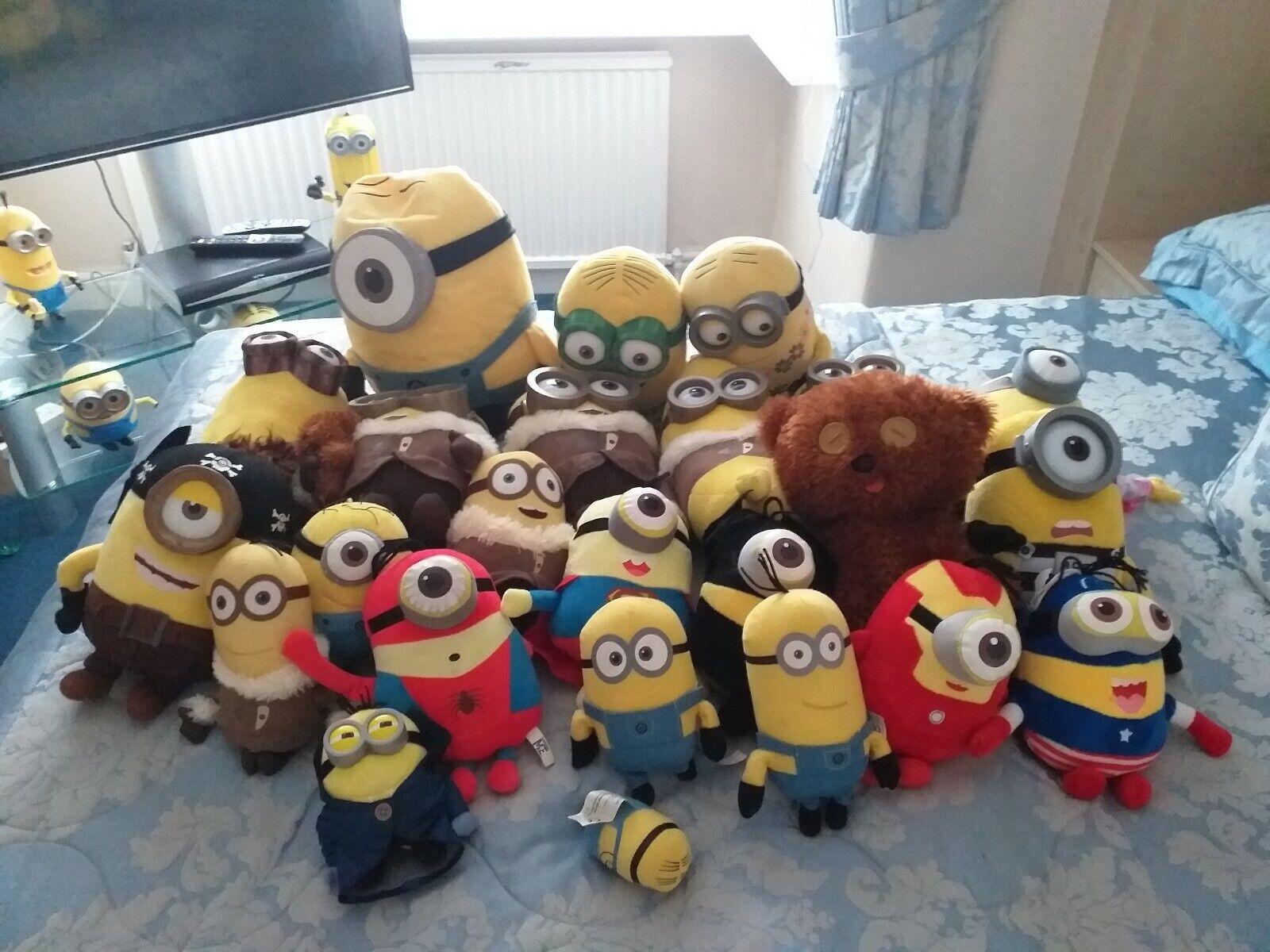 Minions Plush Toys Bundle 24
