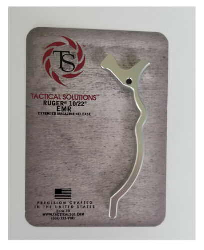 TS Tactical Solutions Extended Magazine Release for Ruger 10//22 EMR NEW