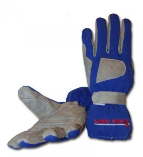 Größe 1-12 blau keep-racing® Handschuhe GRIP für Kart- /& Motorsport