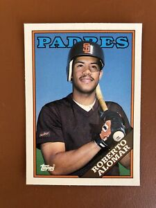 1988-Topps-Traded-Roberto-Alomar-Rookie-Card-4T-RC-MINT-Padres-HOF