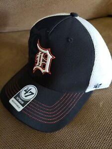 47 Brand Trucker Snapback Cap VINTAGE MVP Detroit Tigers