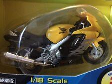 Honda CBR 600F YELLOW/BLACK motorcycle 1/18 CBR600F 600 F CBR600 Maisto
