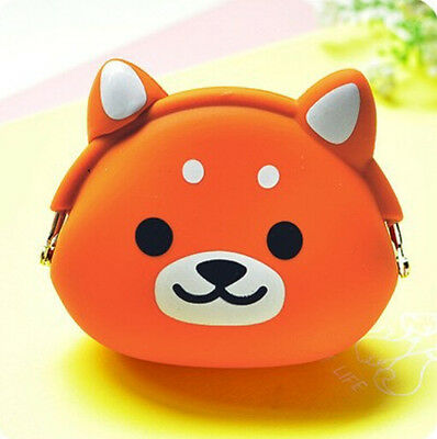Popular Kids' Silicone Storage Animal Mini Pouch Coin Bag Change Wallet Purse