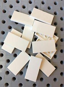 Lego Black 2x4 Flat Tiles Smooth Finishing Tile MODULAR BUILDINGS New Lot Of 12