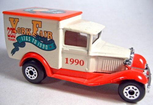 Matchbox 1-75 SF MB38 Ford Model A  York Fair  Pre-pro