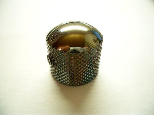 Schaller Dome Speed Knob Messing mit Markierung Ruthenium