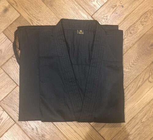 100/% Cotton Black Karate Gi Uniform