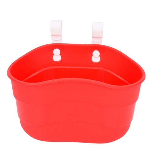 Bicycle Basket Children Bike Plastic Hanging Front Handlebar Carrier Saddle Jh