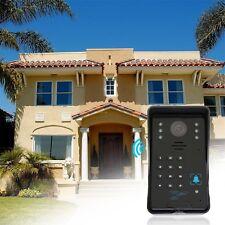 DoorBell Video Door Phone Home Intercom System IR Camera Monitor Outdoor LE