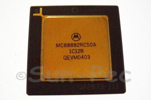 MOTOROLA MC68882RC50A PGA MC680X0 FPU COPROCESSOR