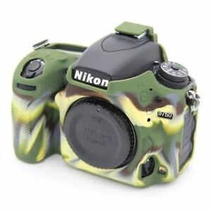 Details about Camouflage Rubber Silicon Case Cover Protector For Nikon D750  DSLR Camera Soft