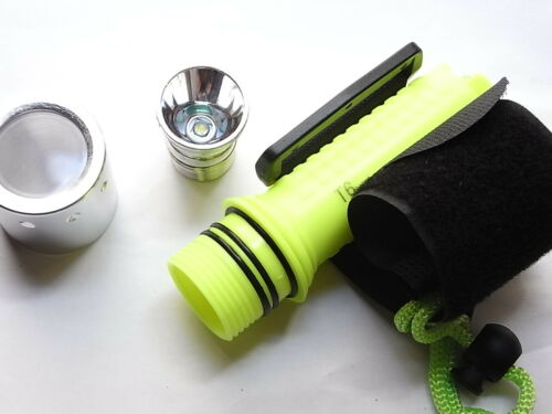 Torch sub 1000lm Cree T6 Led Flashlight only Body