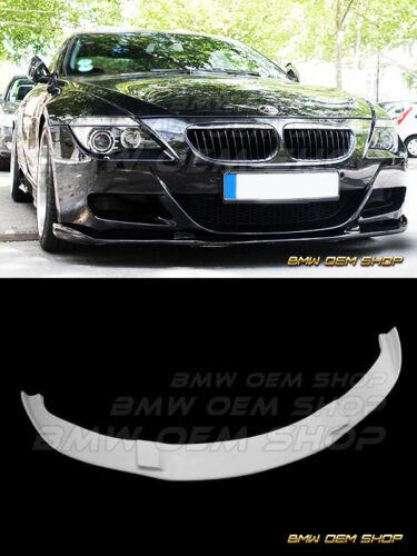 UNPAINTED PRIMED 06-10 BMW E63 E64 M6 EXTREME FRONT LIP SPLITTER SPOILER