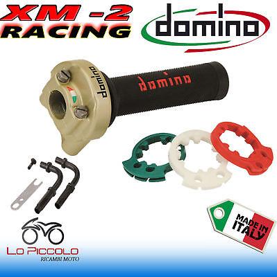 COMANDO GAS RAPIDO DOMINO XM2 3 GHIERE REGOLABILE COMPLETO DI CURVE//PIPETTE CAVI