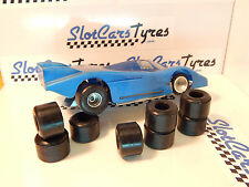 "Parma WW 8 urethane tyres Slot cars 1/32 (13/16"") - US"