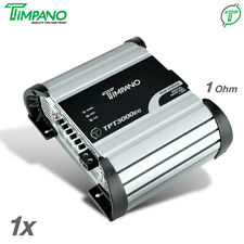 Timpano Tpt3000eq Digital Amplifier 3550w RMS 1 Ohm 3k Volt Meter