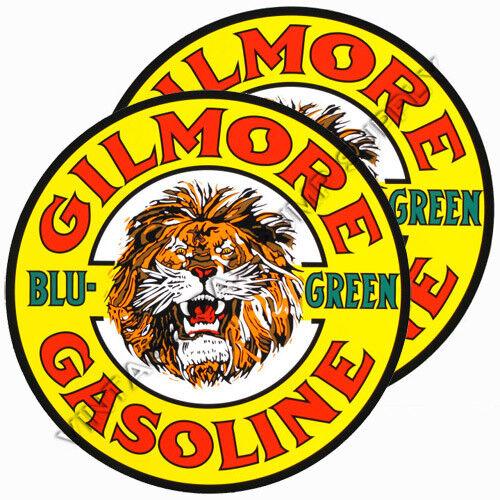 "DC150 Pair of Gilmore Roar Blu-Green 12/"" Vinyl Decals"