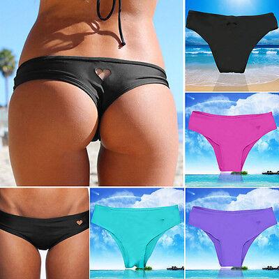 Sexy Women Brazilian Bikini Swimwear Bathing Beach Thong Ruched Scrunch Bottom