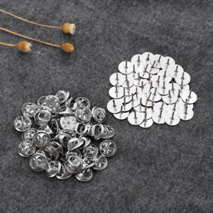 50pcs-Tie-Tacks-Pin-Backs-Butterfly-Clasp-Clutch-Jewelry-Findings-Brooches