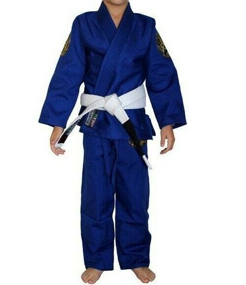 Break Point Standard Kids bluee Jiu Jitsu Gi Size  K0  take up to 70% off