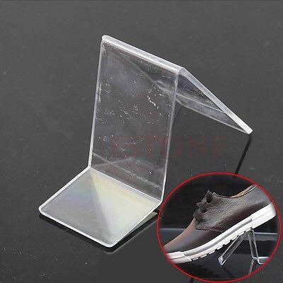 Acrylic V Shape Shoe Shop Retail Display Stand Rack Shelf High Quality
