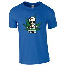 THC MOLECULE T-SHIRT MARIJUANA DRUGS CANNABIS GANGSTER DOPE STONER WEED TOP