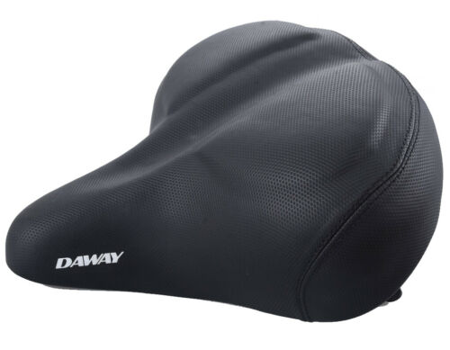 DAWAY C40 Big Bicycle Seat Bike Beach Cruiser Exercise Cushion Saddle super soft