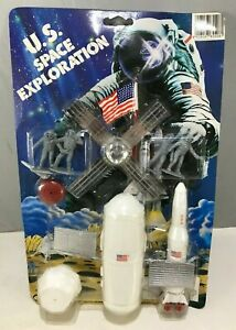 PLASTIC SOLDIER US SPACE EXPLORATION soldatini plastica spaziale luna ISS moon
