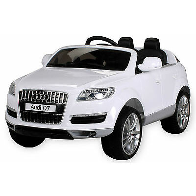 Elektroauto AUDI Q7 SUV Kinderauto Elektrofahrzeug Kinder Elektro Spielzeug Auto