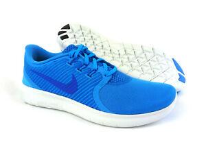 ea306aeacf3e Nike men s Free RN Commuter running shoes sneakers Blue Glow Cobalt ...
