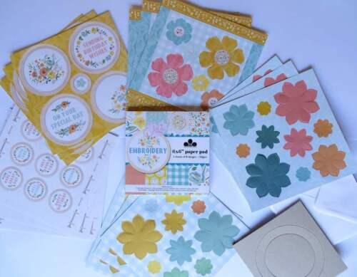 Craft artista Brillo del oro Tarjeta No Caseta Suave A4 250gsm 10 hojas de elaboración de tarjetas