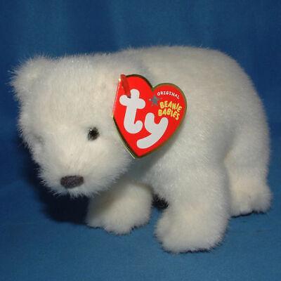 WWF Polar Bear Internet Exclusive Ty Beanie Baby Icepack MWMT