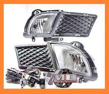 For 2010-2013 KIA Forte Sedan Fog Light Clear Front Lamps +Wiring Kit PAIR