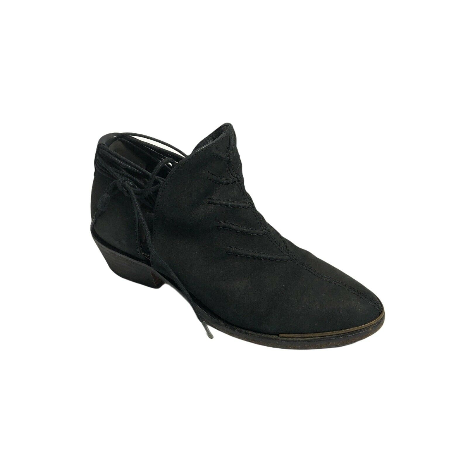 Varese Shoes Womens Ankle Booties Black Soft Leather Portugal Eu 38