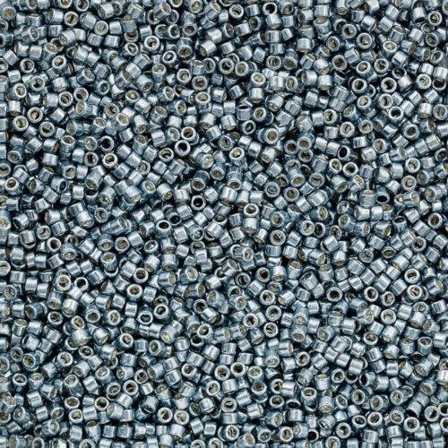 Q75//3 Toho Treasure seed beads 11 galvanisé bleu ardoise 7.8 g TT-01-565
