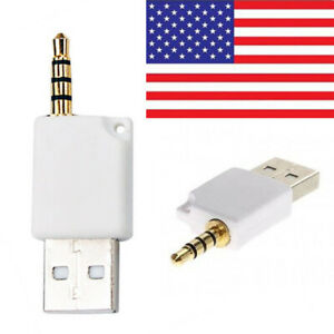 White Usb Charger Data Sync Cable For Ipod Shuffle 2nd Generation Uk Ebay