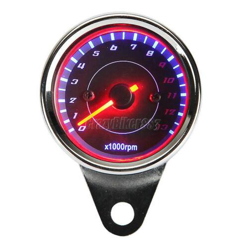 LED Backlight Motorcycle Tachometer For Honda Shadow Spirit VT750 VT1100 VTX1300