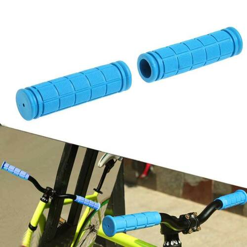 1 Pair Anti-slip Rubber Bike Handlebar Grips Cover 120mm Cycling Accessoriess