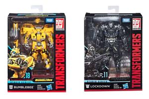 Hasbro Transformers Studio Serie  11 Deluxe Lockdown &  18 Figura de Bumblebee Set