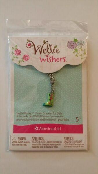 AMERICAN GIRL WELLIE WISHERS 7 CHARMS 4 GIRLS LADYBUG BUTTERFLY SHELL BIRTHDAY